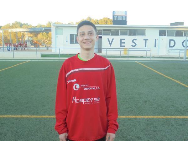 El jugador de l'Infantil A, Roman Fita, signa amb el València CF