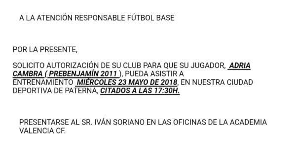 Adrià Cambra i Jaume Durà, convocats pel València CF