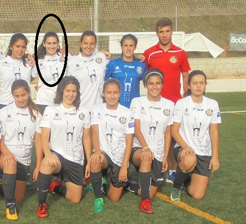 La jugadora Gisela Espejo signa amb el València CF Femení