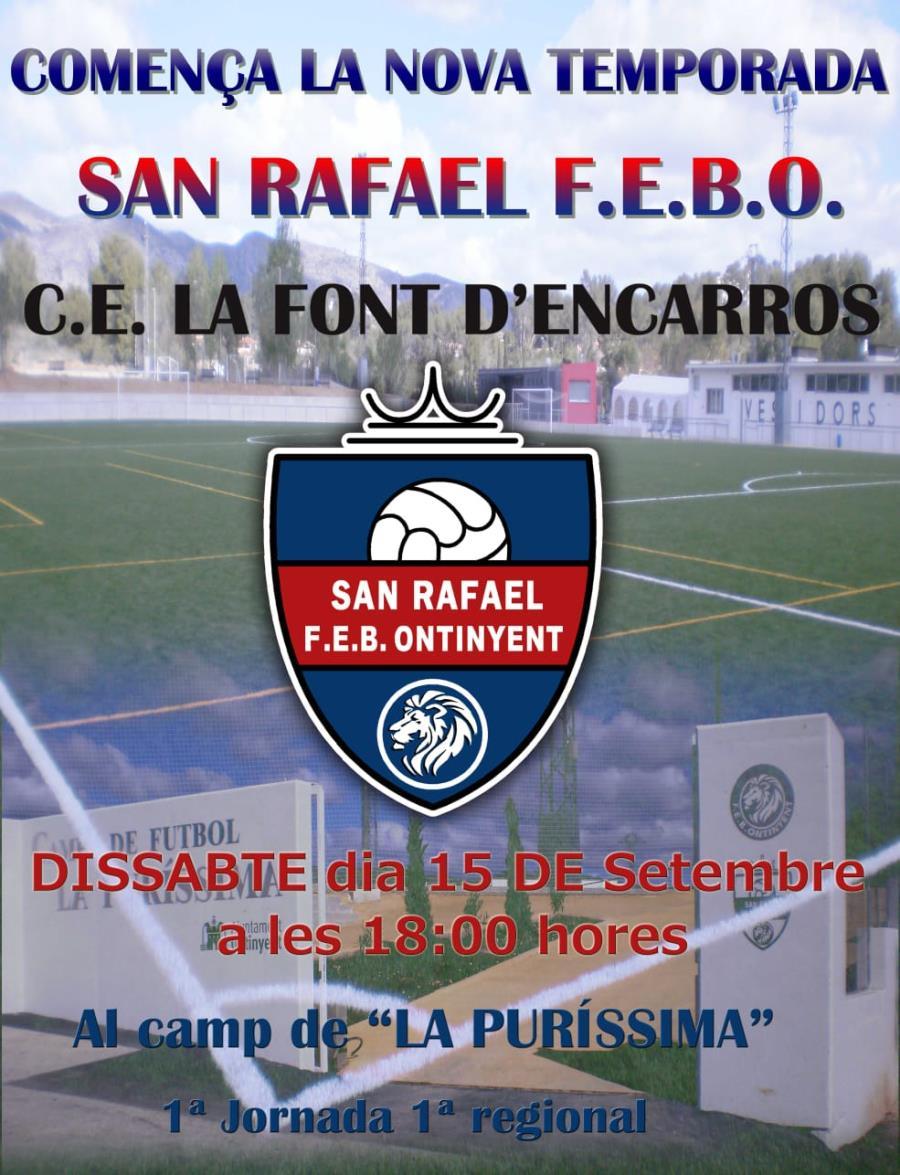 Comença la temporada 2018/2019 el Sant Rafel
