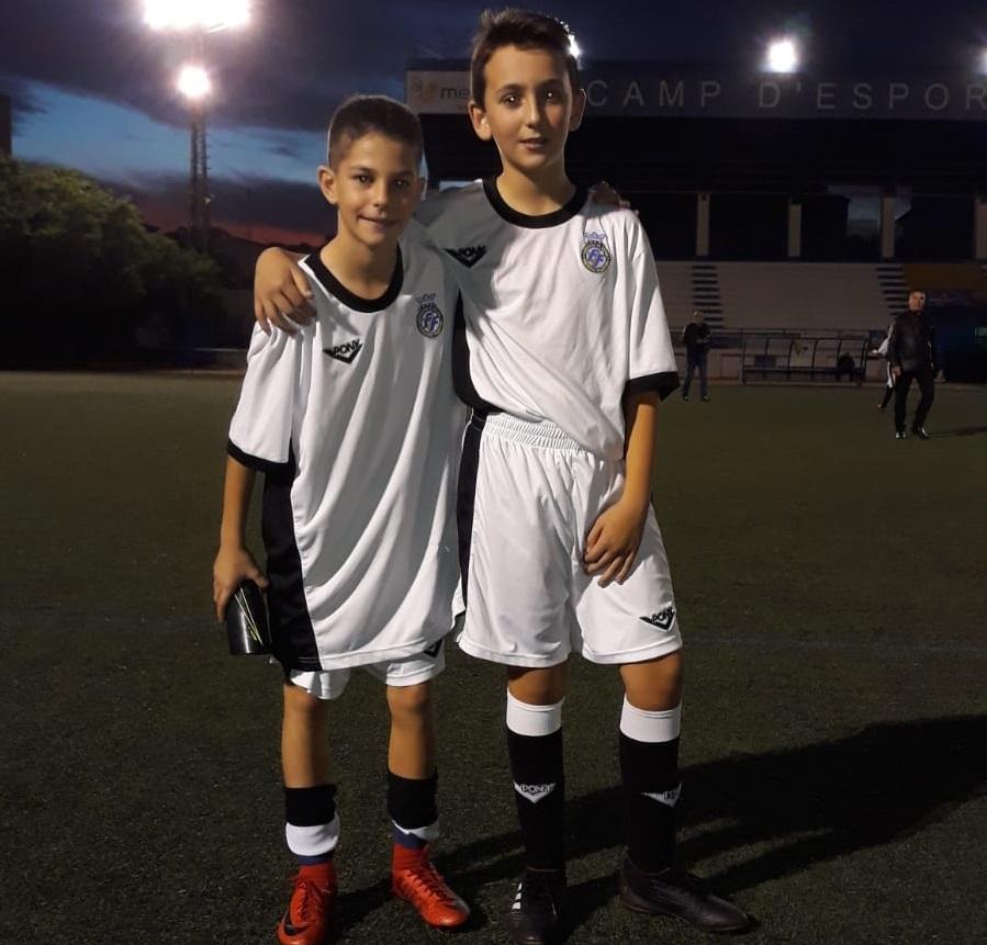 Héctor Pastor i Hugo Francés s'entrenen amb la Sub-12 valenciana