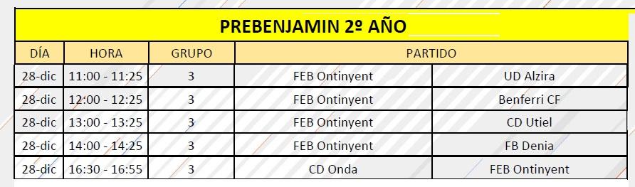 Els Prebenjamins A i B participen a una convivència del València CF