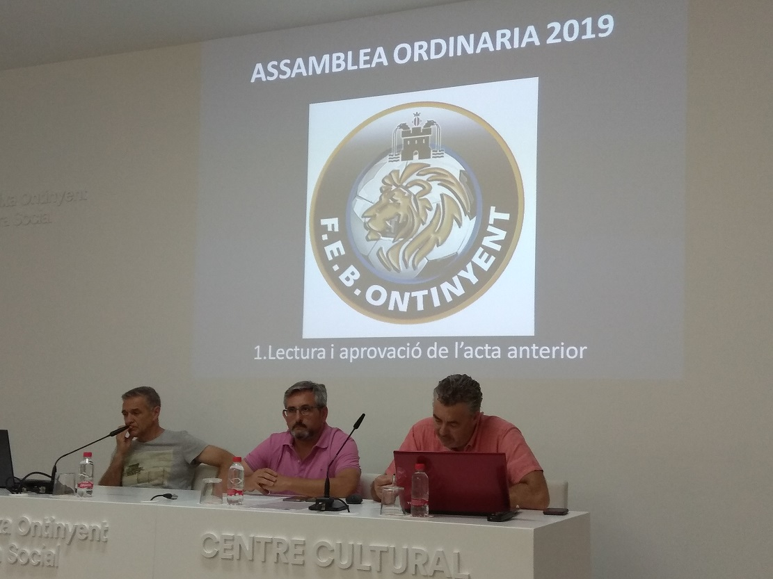 Transparència a l'Assemblea General Ordinaria 2018/2019