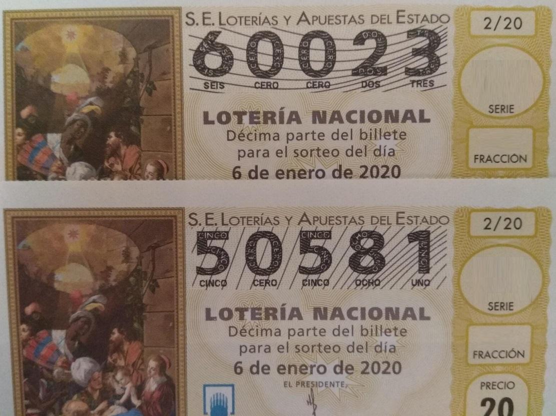 """Loteria sorteig del """"Niño"""""""