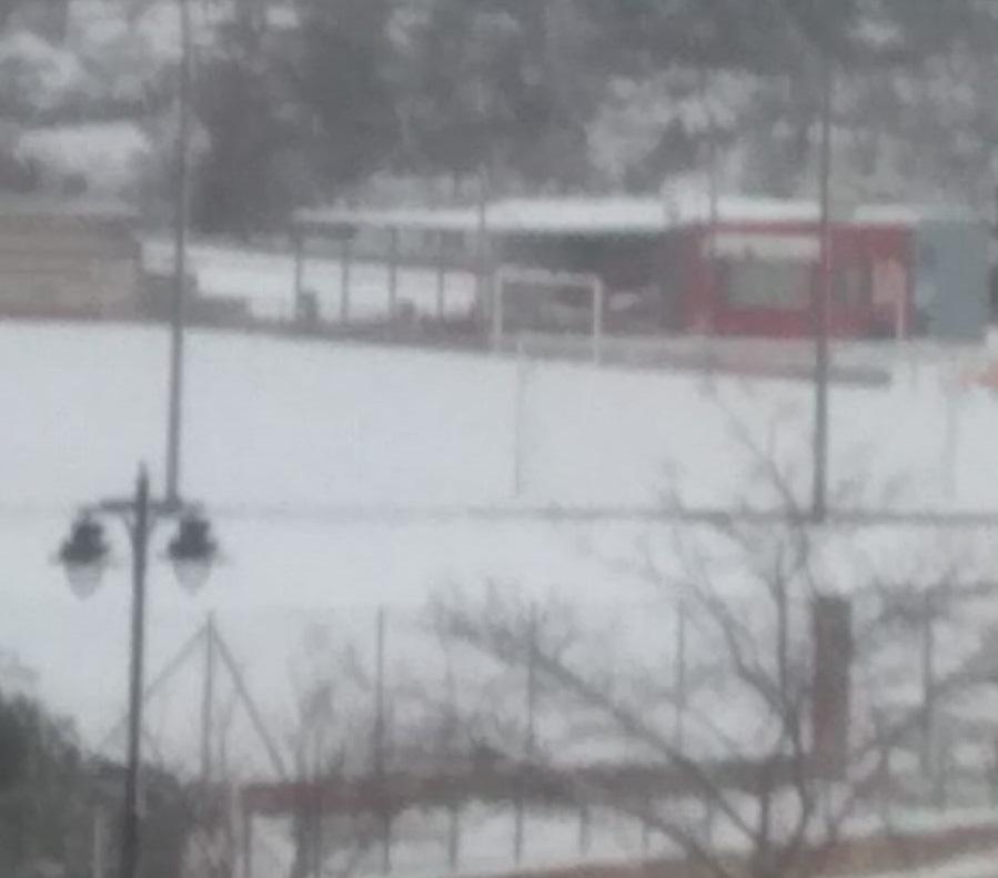 Suspesos els entrenaments per la neu
