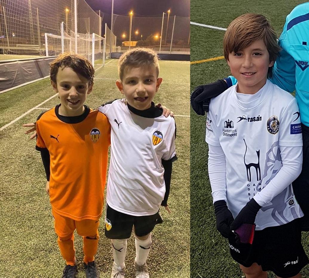 Leo, Adrià i Xavi, s'entrenaran hui a València