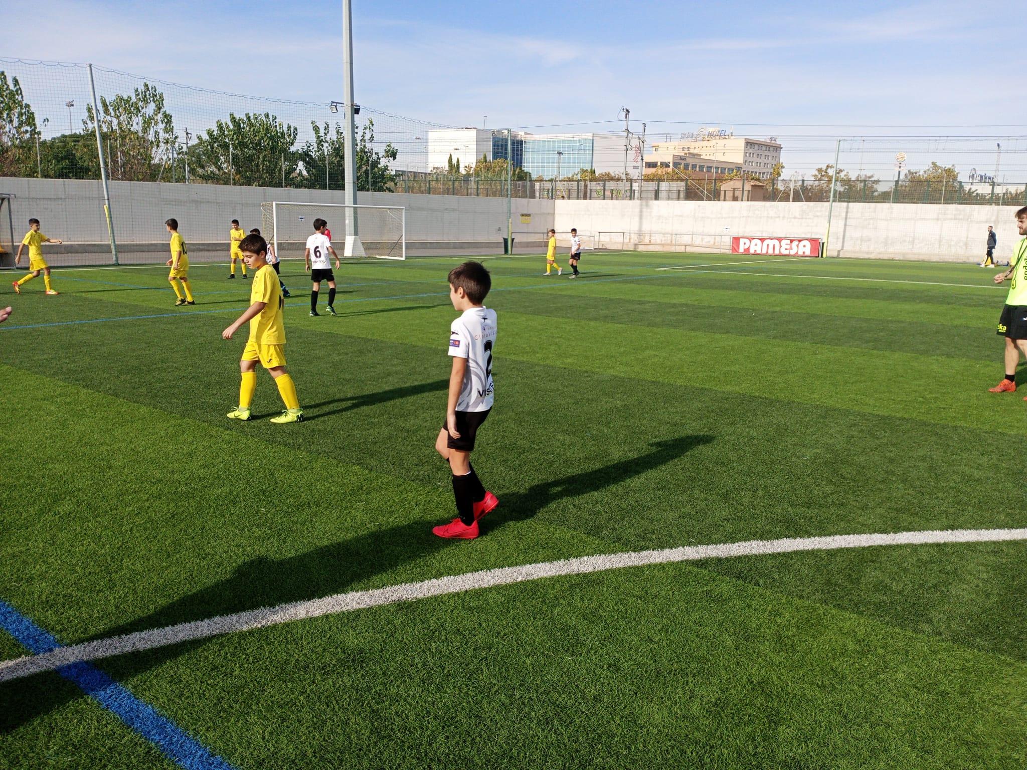 Intensa participació a la Yellow Cup Captació de Villarreal