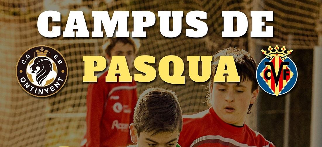 El Campus de Pasqua espera als vora 80 xiquets inscrits
