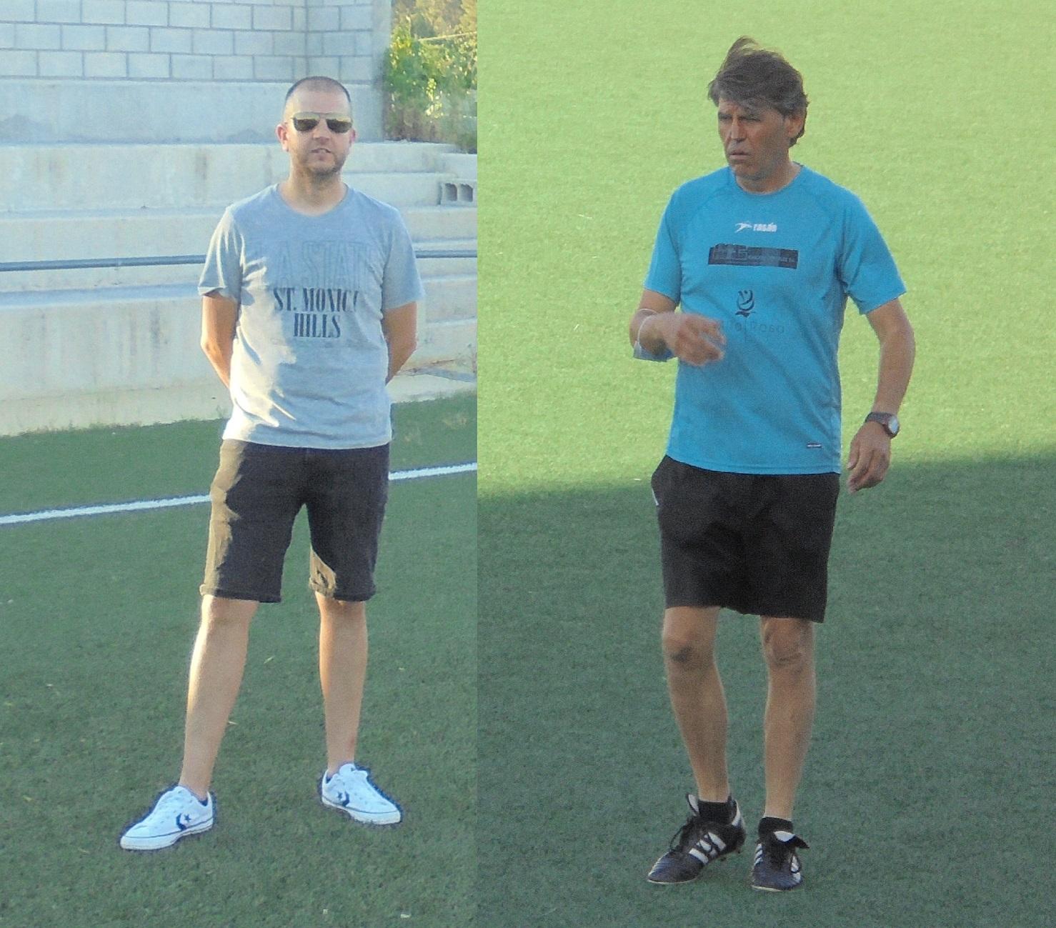 Angel Guarner i Vicent Vidal entrenaran els Infantils A i B la 21/22