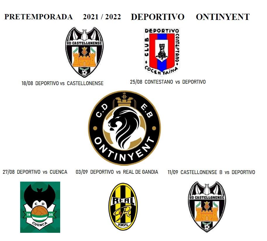 Programada la pretemporada 21/22 del Deportivo Ontinyent, amb 5 amistosos