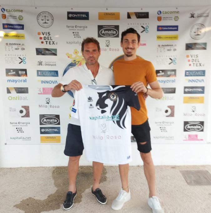 Omar Cortés torna a fitxar pel Club Deportivo Esport Base Ontinyent
