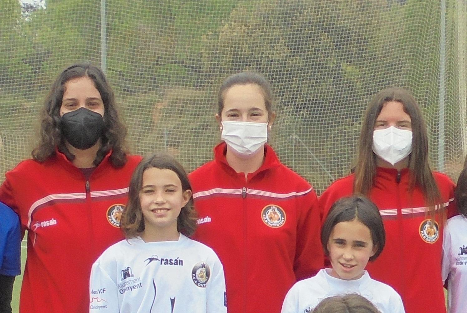 Sara Soriano encapçala l'equip tècnic de l'Aleví Femení per la 21/22