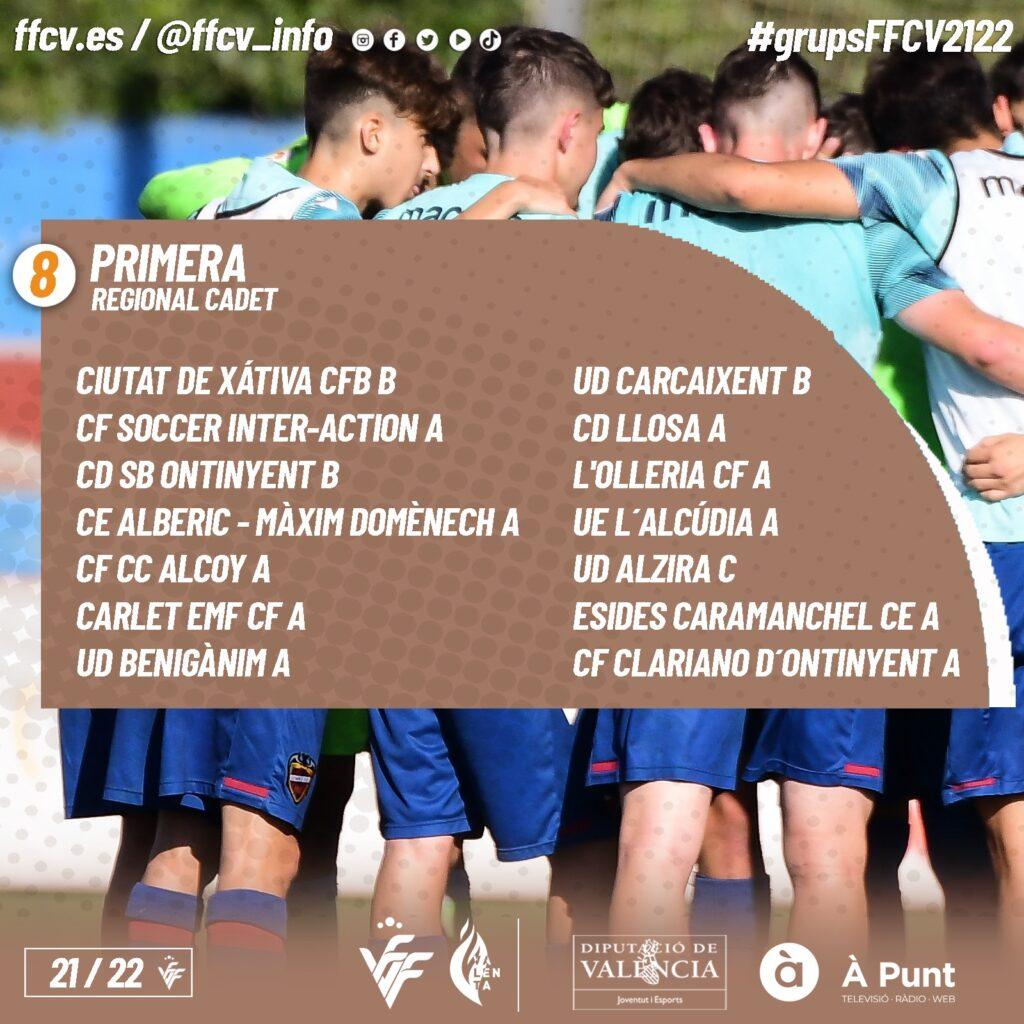Ja es coneixen els grups de tots els equips de futbol-11