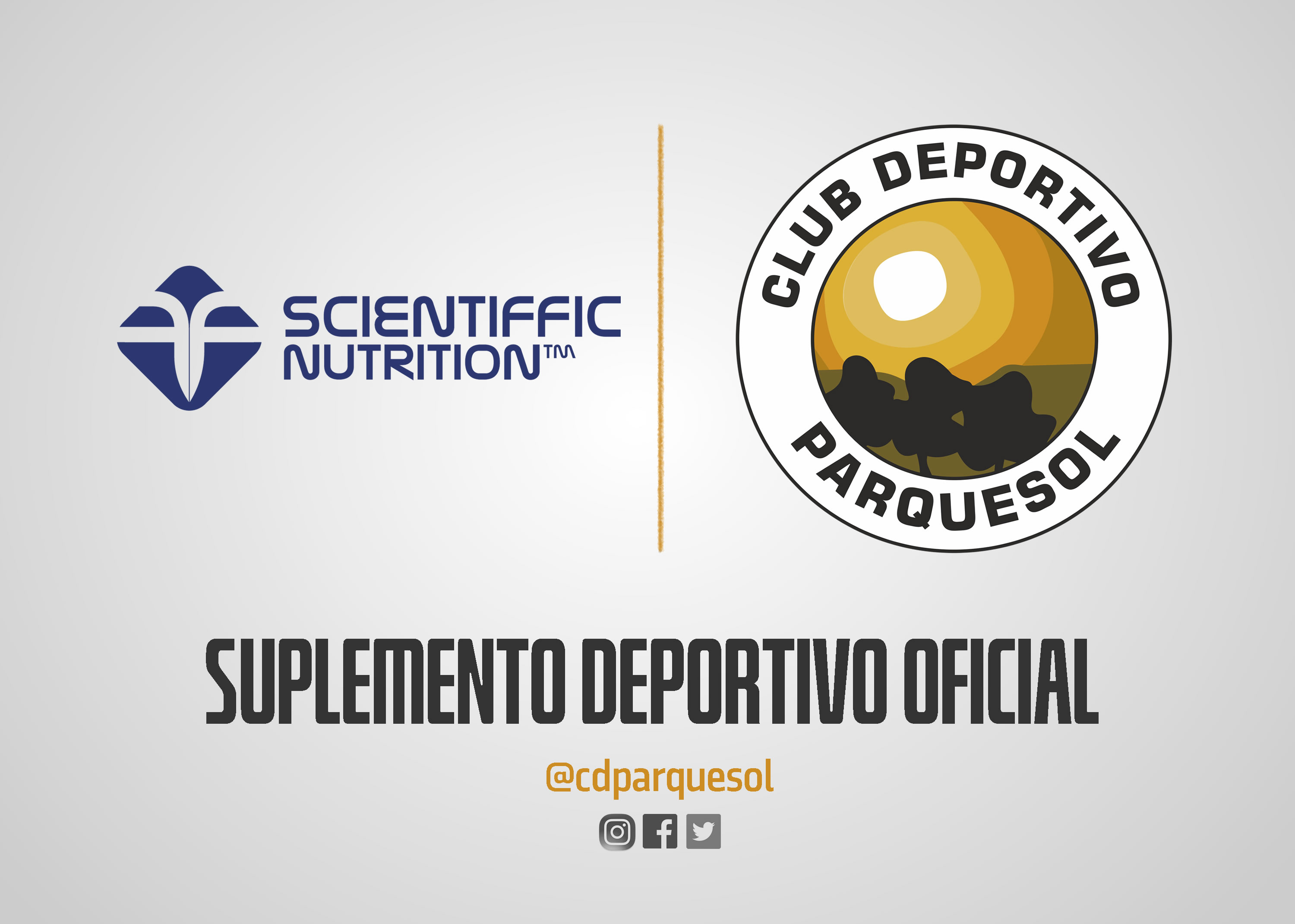 Scientiffic Nutrition nuevo Suplemento Deportivo Oficial del club