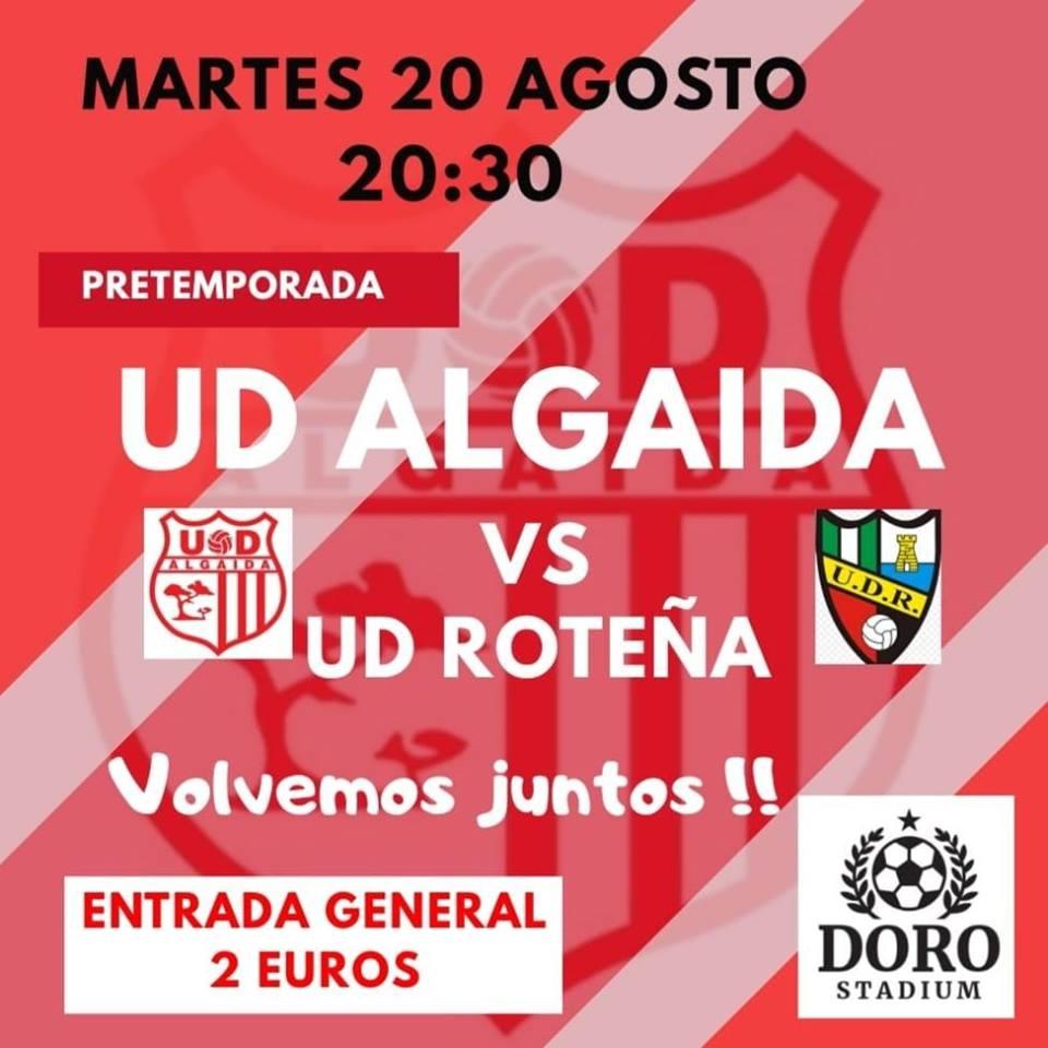 Ante la UD Algaida, nuevo partido amistoso