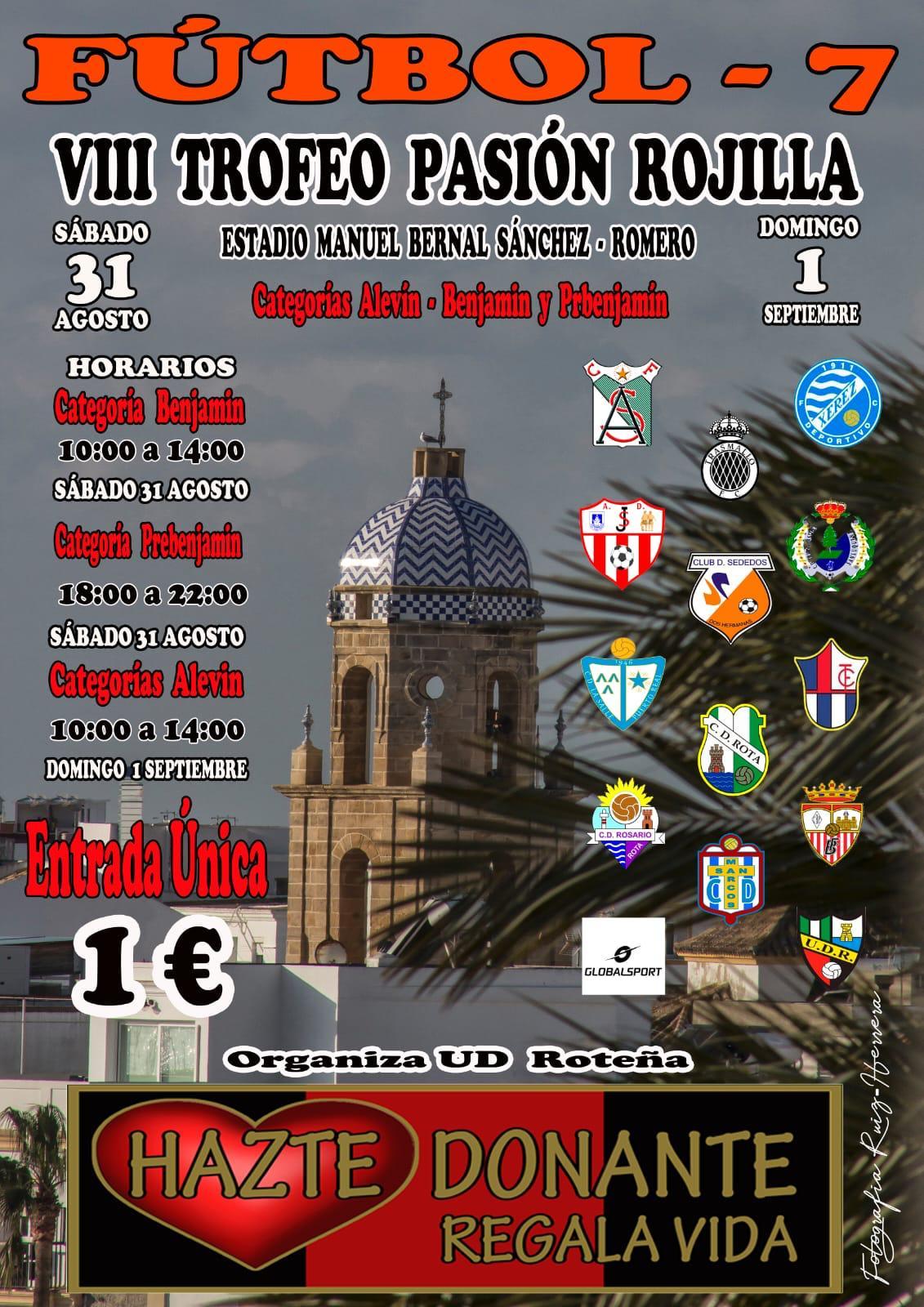 VIII Trofeo Pasión Rojilla, fin de semana de fútbol de cantera en el Estadio Manuel Bernal Sánchez-Romero