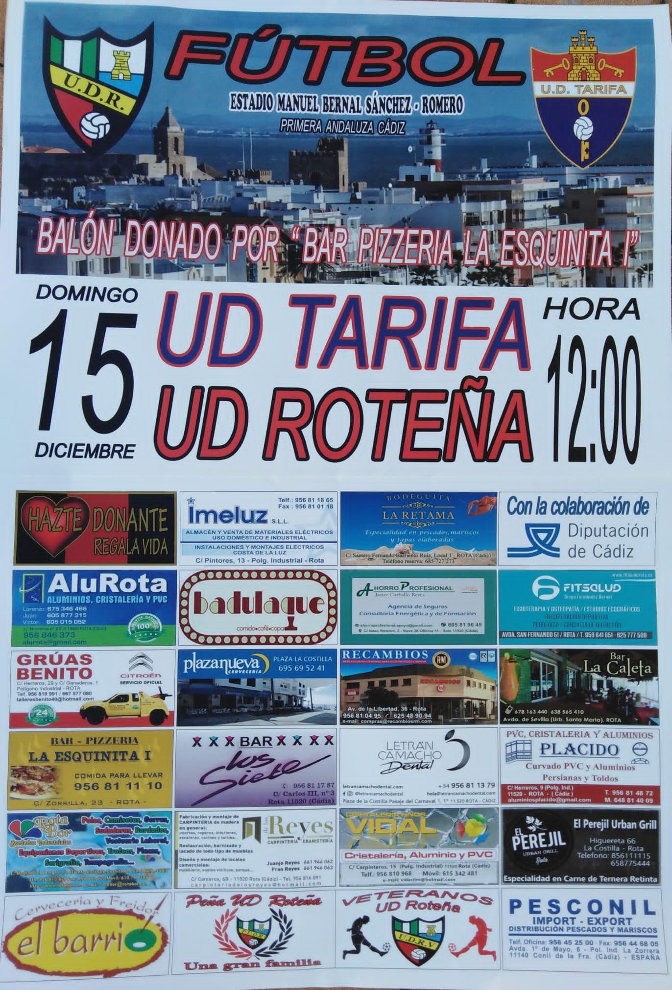 sdsUD Roteña - UD Tarifa