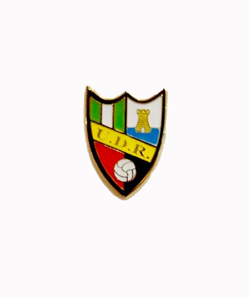 Pin escudo UD Roteña (IV)