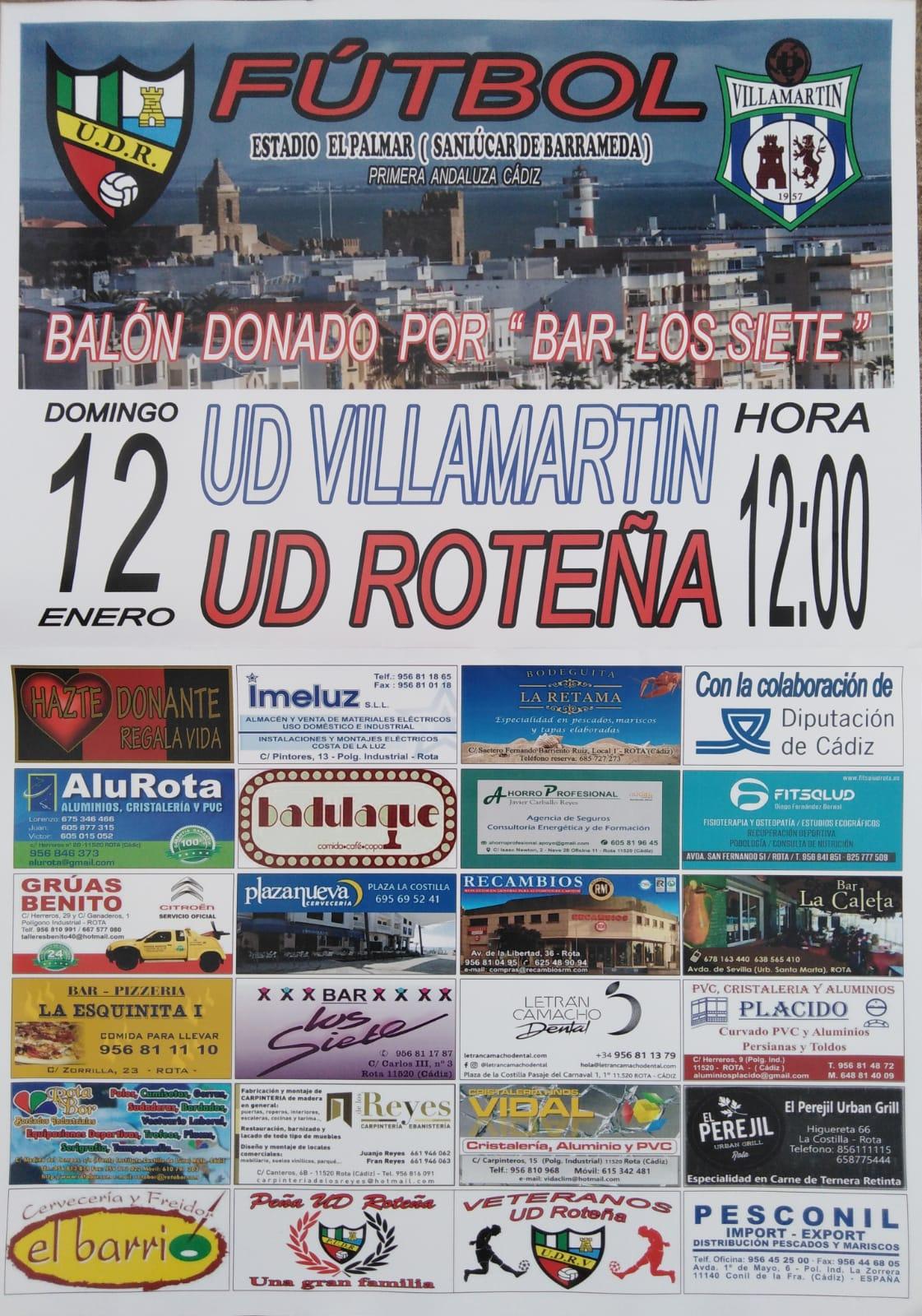 UD Roteña - UD Villamartín