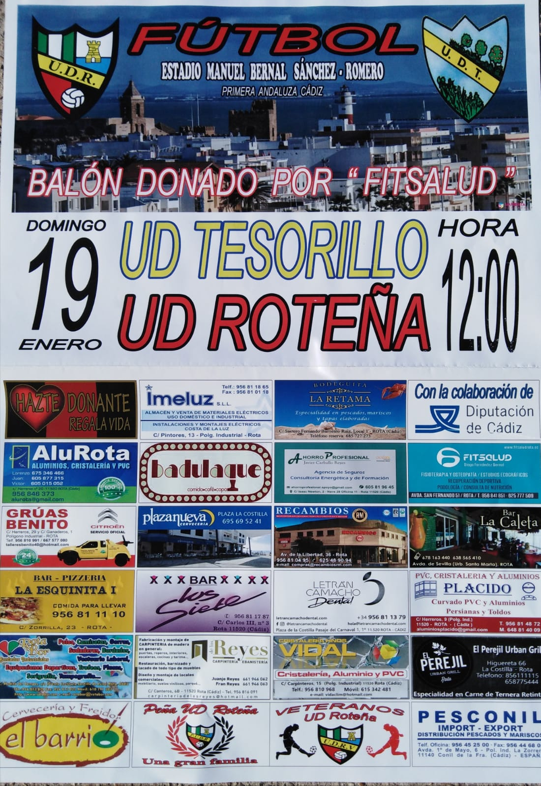 UD Roteña - UD Tesorillo