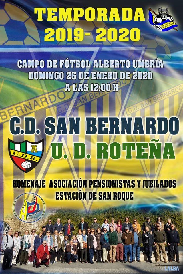 CD San Bernardo - UD Roteña