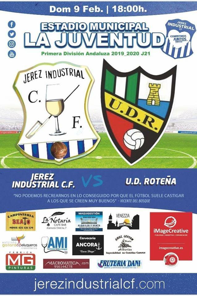 Jerez Industrial CF - UD Roteña
