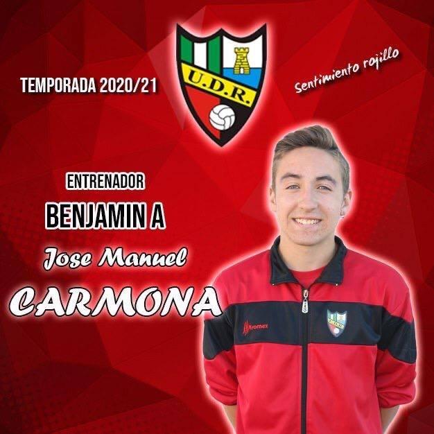José Manuel Carmona seguirá con nosotros como responsable del Benjamín A