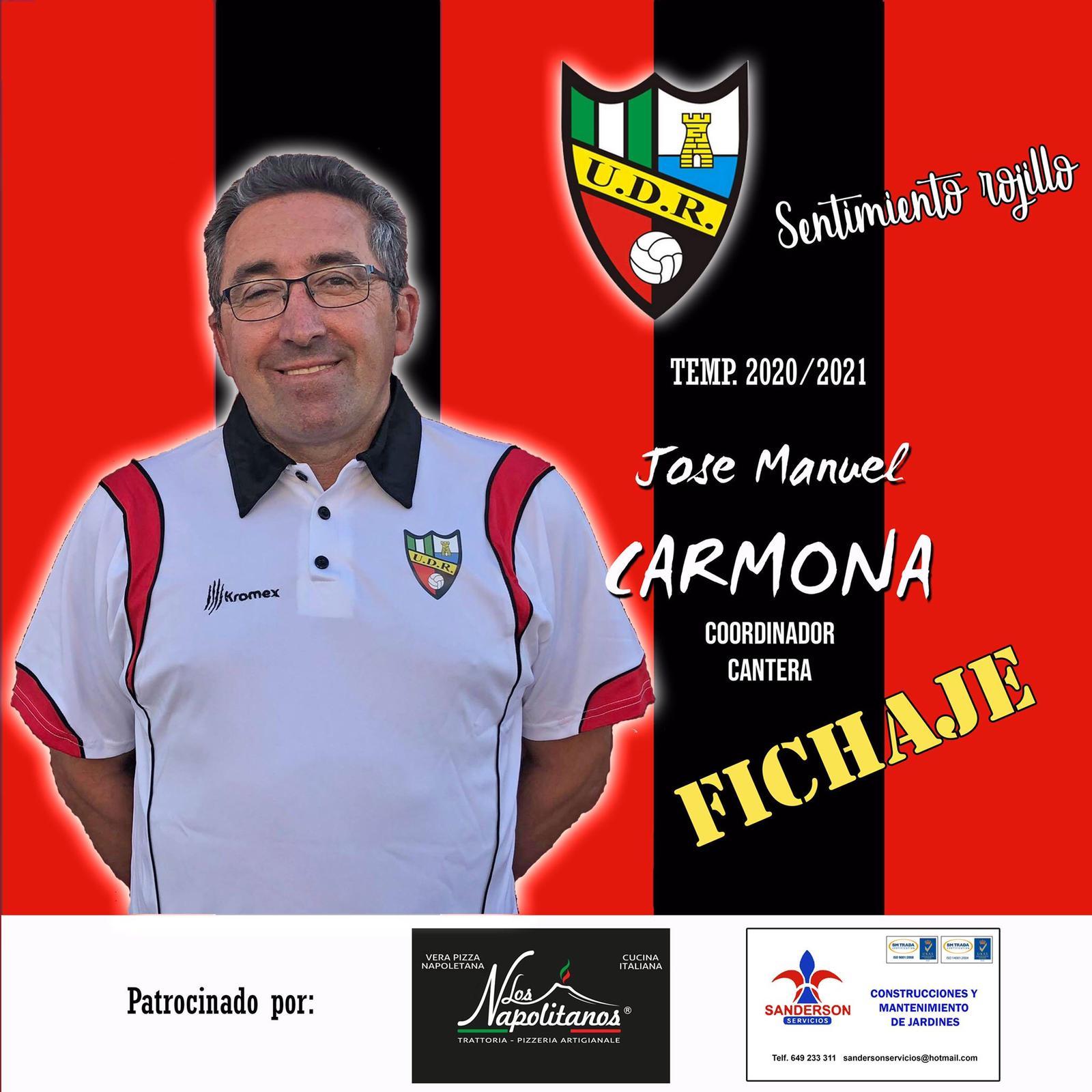 Nueva incorporación para la próxima temporada, Jose Manuel Carmona será el coordinador de cantera