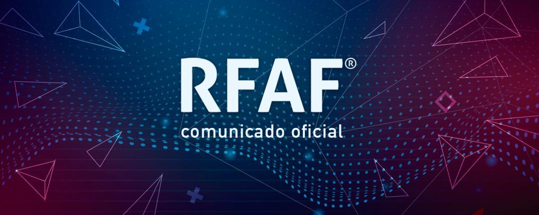 Comunicación oficial de la RFAF sobre las competiciones en Andalucía