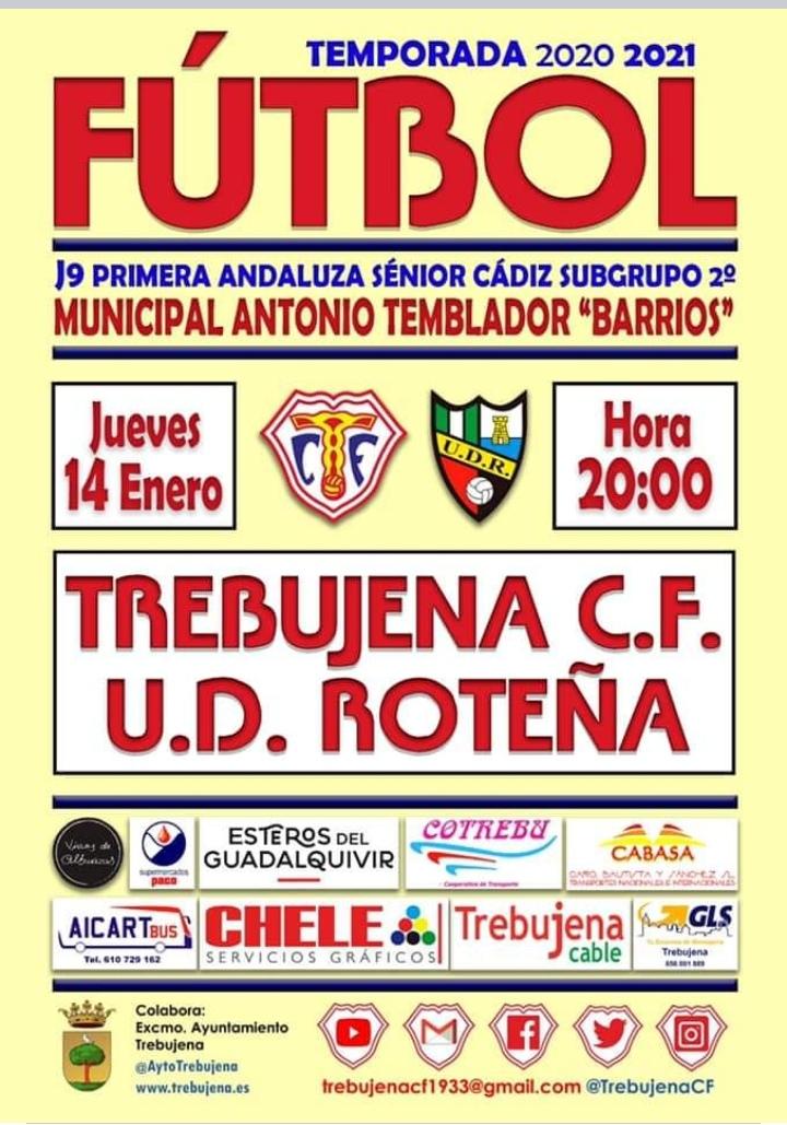 Trebujena CF - UD Roteña