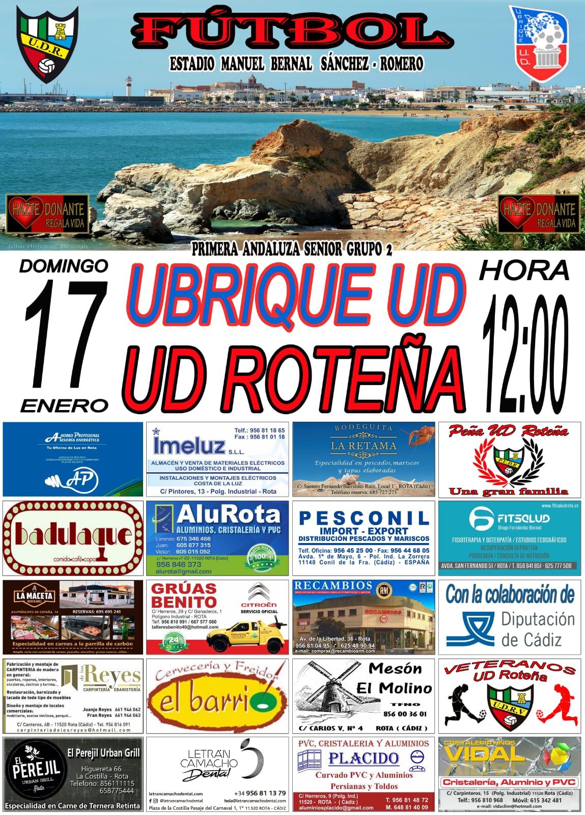 UD Roteña - Ubrique UD