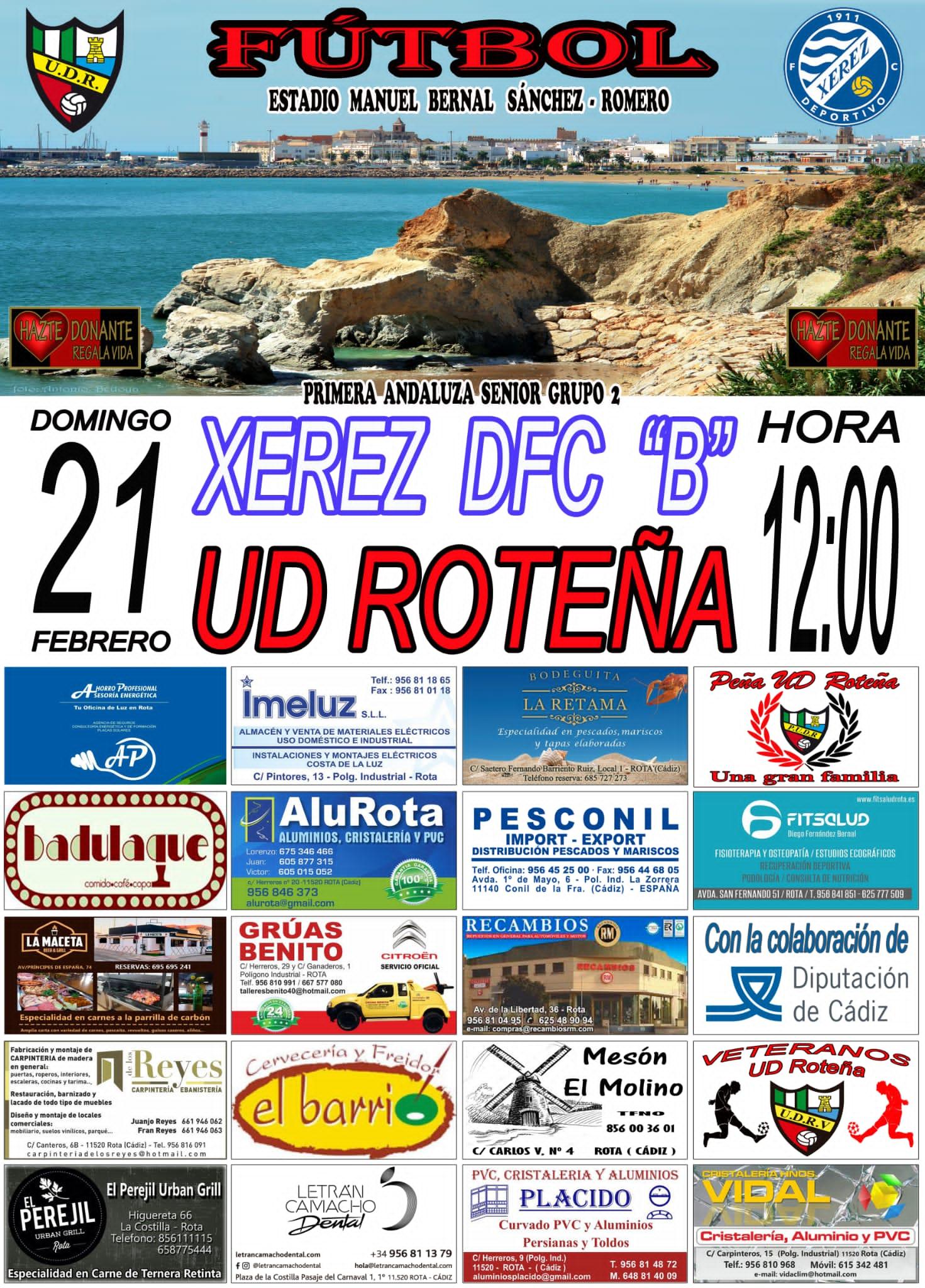 UD Roteña - Xerez DFC B