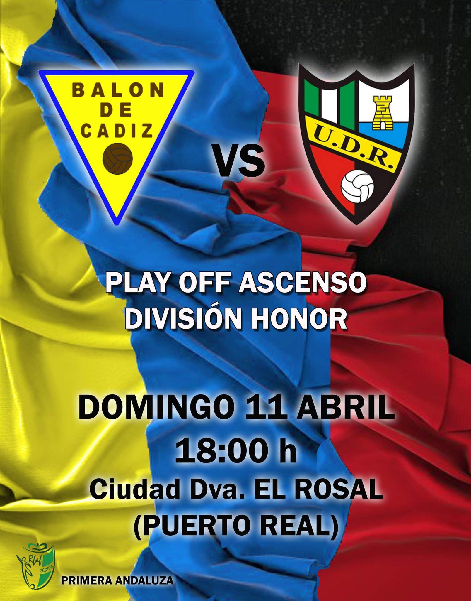 sdsBalón de Cádiz - UD Roteña