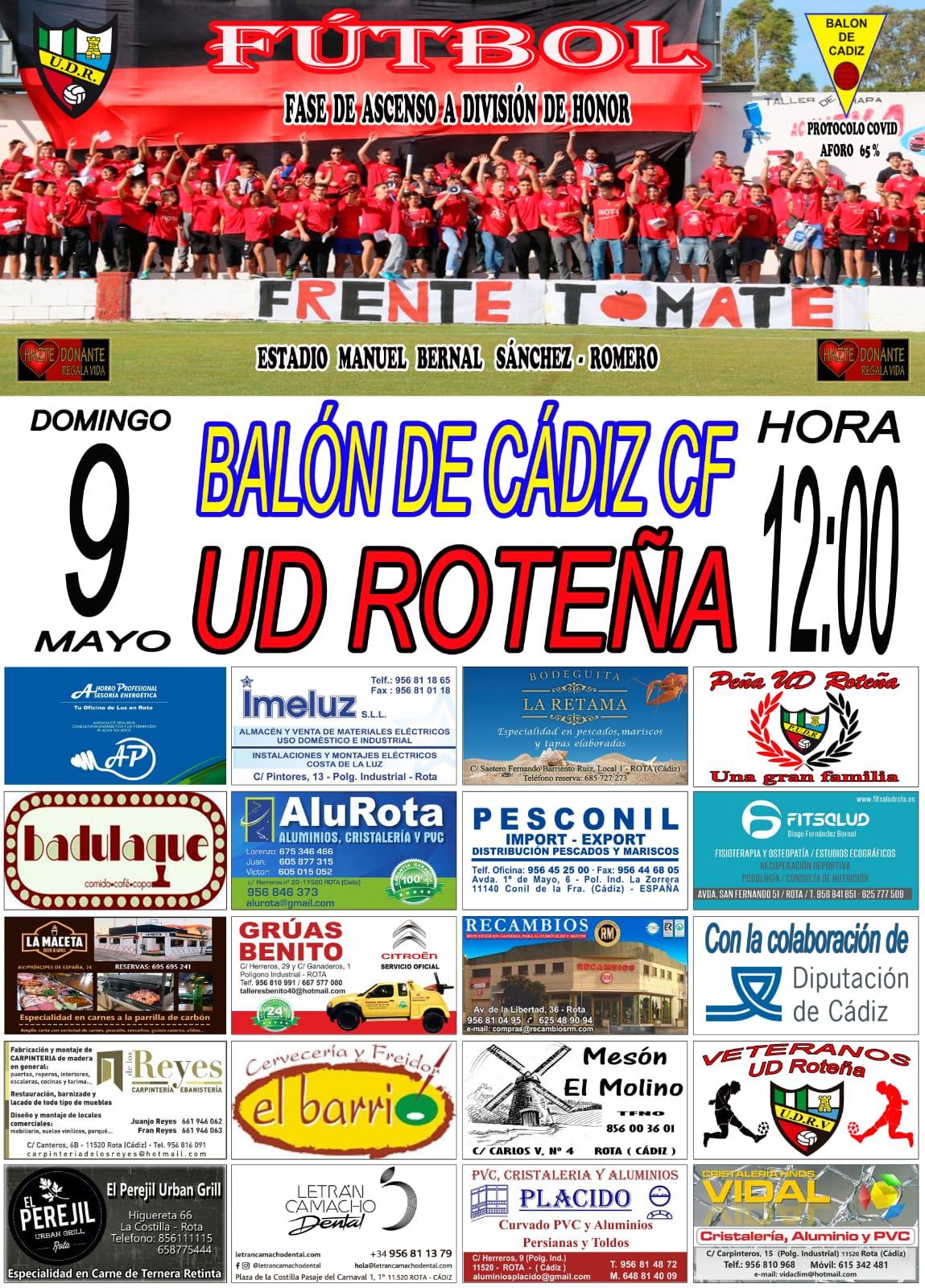 UD Roteña - Balón de Cádiz