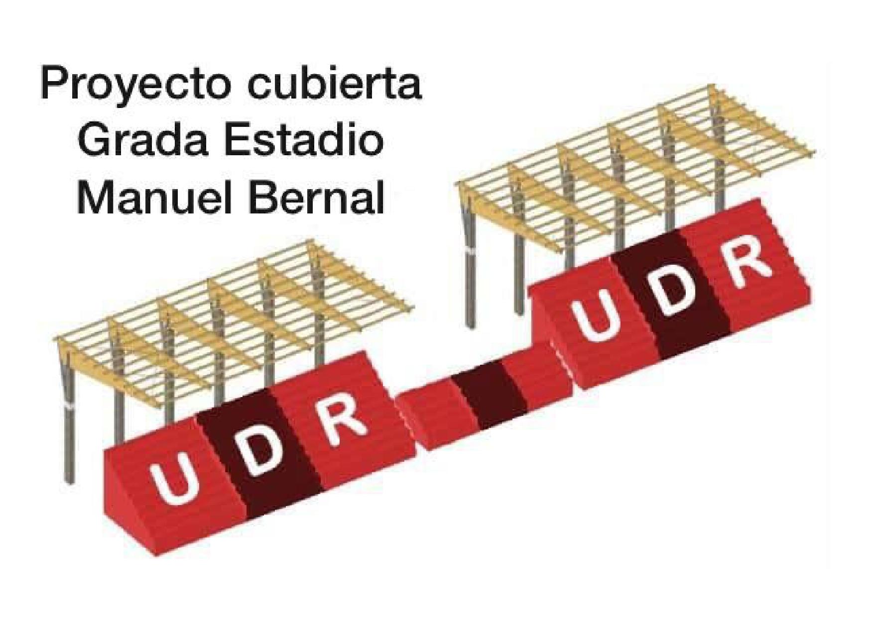 sdsPresupuestos participativos municipales.- Instalación cubierta tribuna Estadio Manuel Bernal Sánchez-Romero