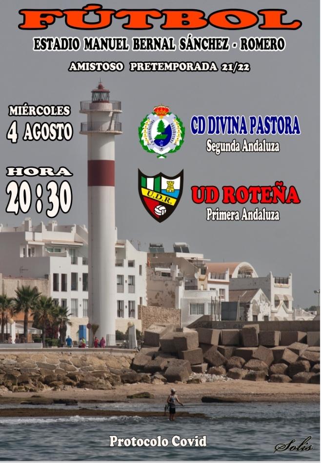 UD Roteña - CD Divina Pastora, segunda prueba de preparación