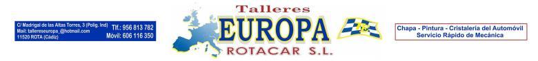 Talleres EUROPA ROTACAR SL