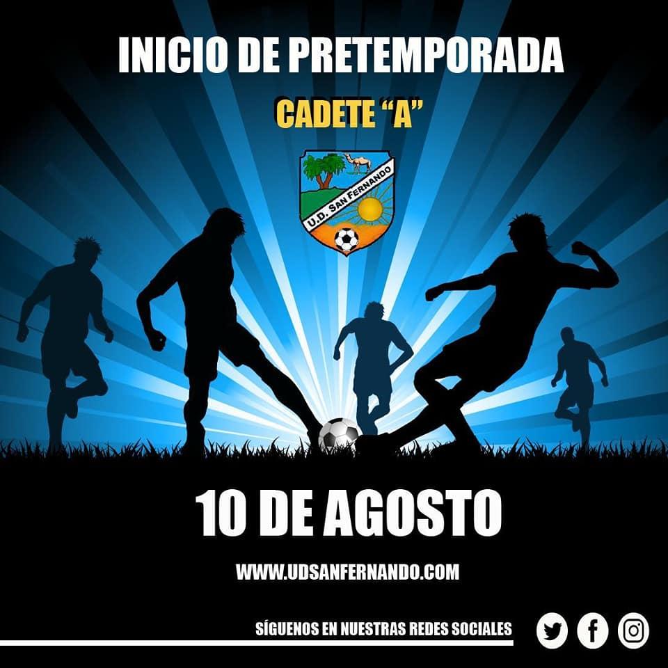 Inicio de pre-temporada Cadete A y Cadete Sanfer-Santos