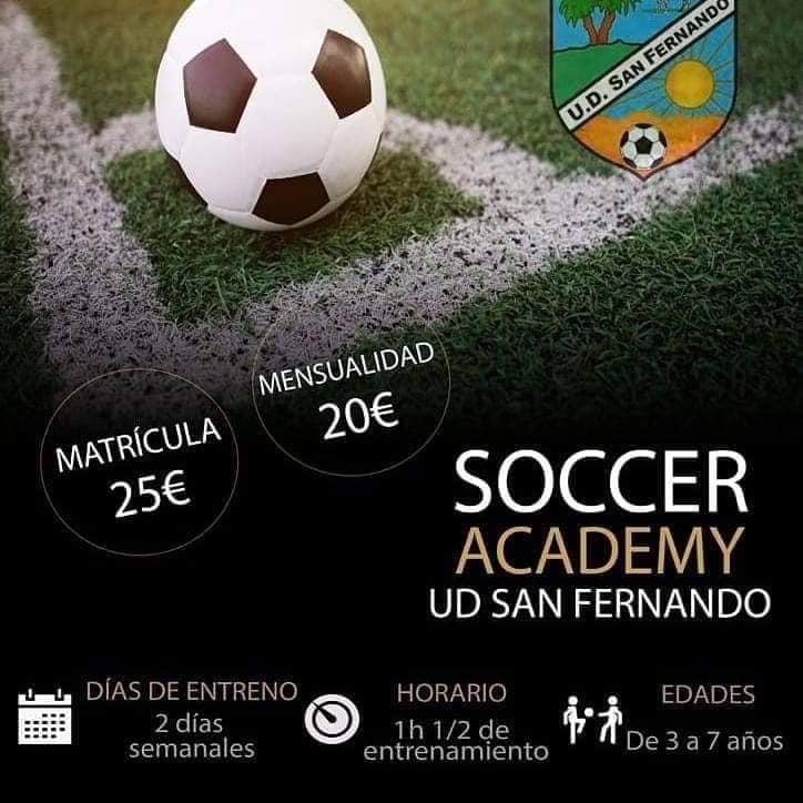 SOCCER ACADEMY UD SAN FERNANDO