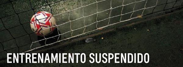 SUSPEDNDIOS LOS ENTRENAMIENTOS.