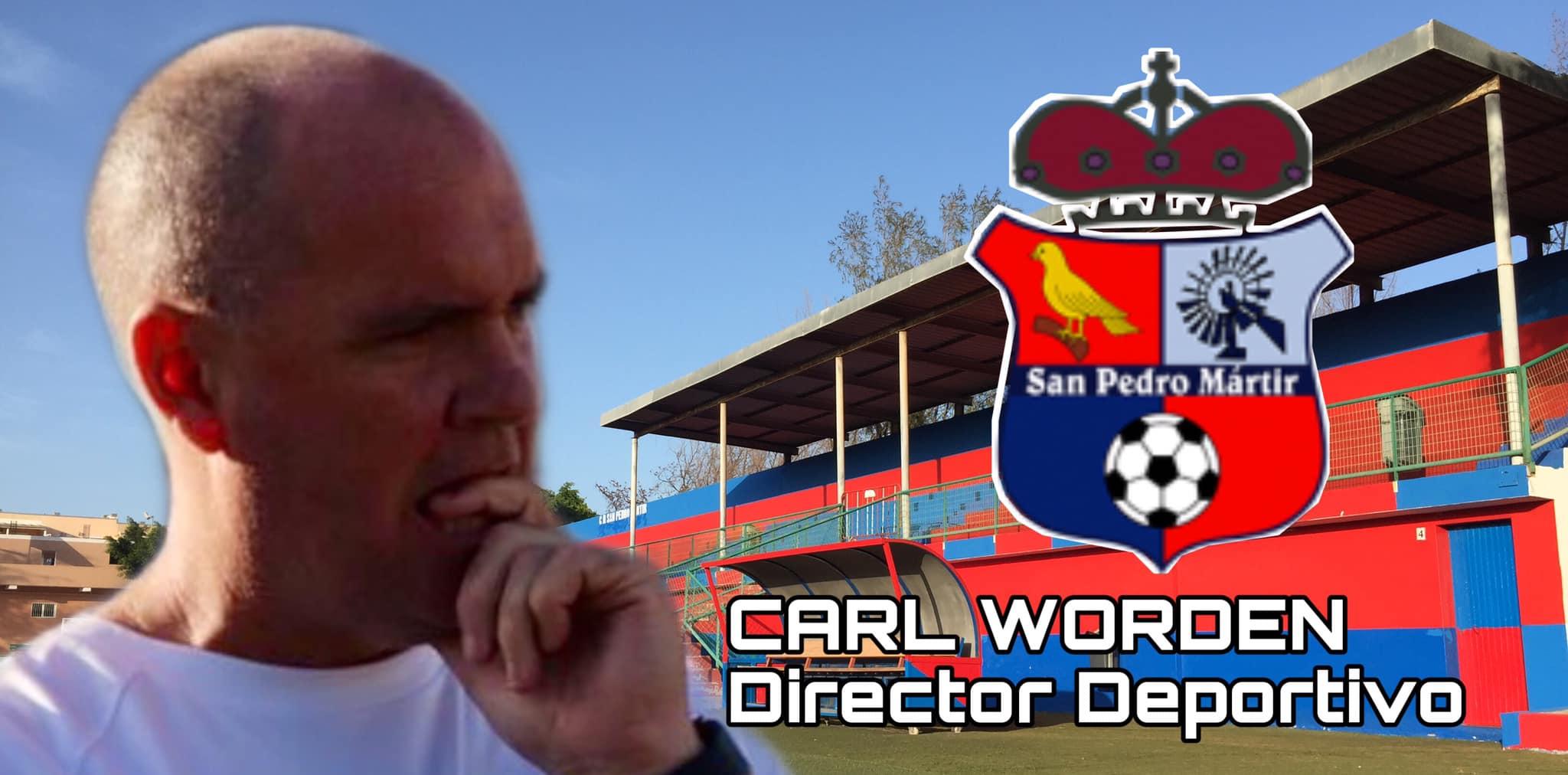 CARL WORDEN CONTINUARÁ EN LA DIRECCIÓN DEPORTIVA