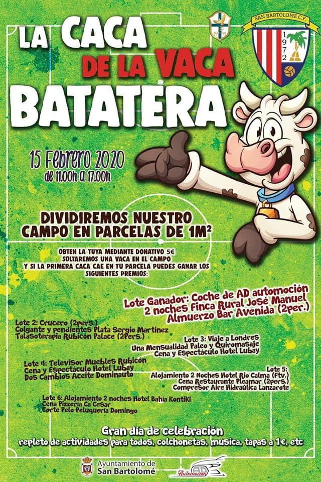 LA CACA DE LA VACA BATATERA