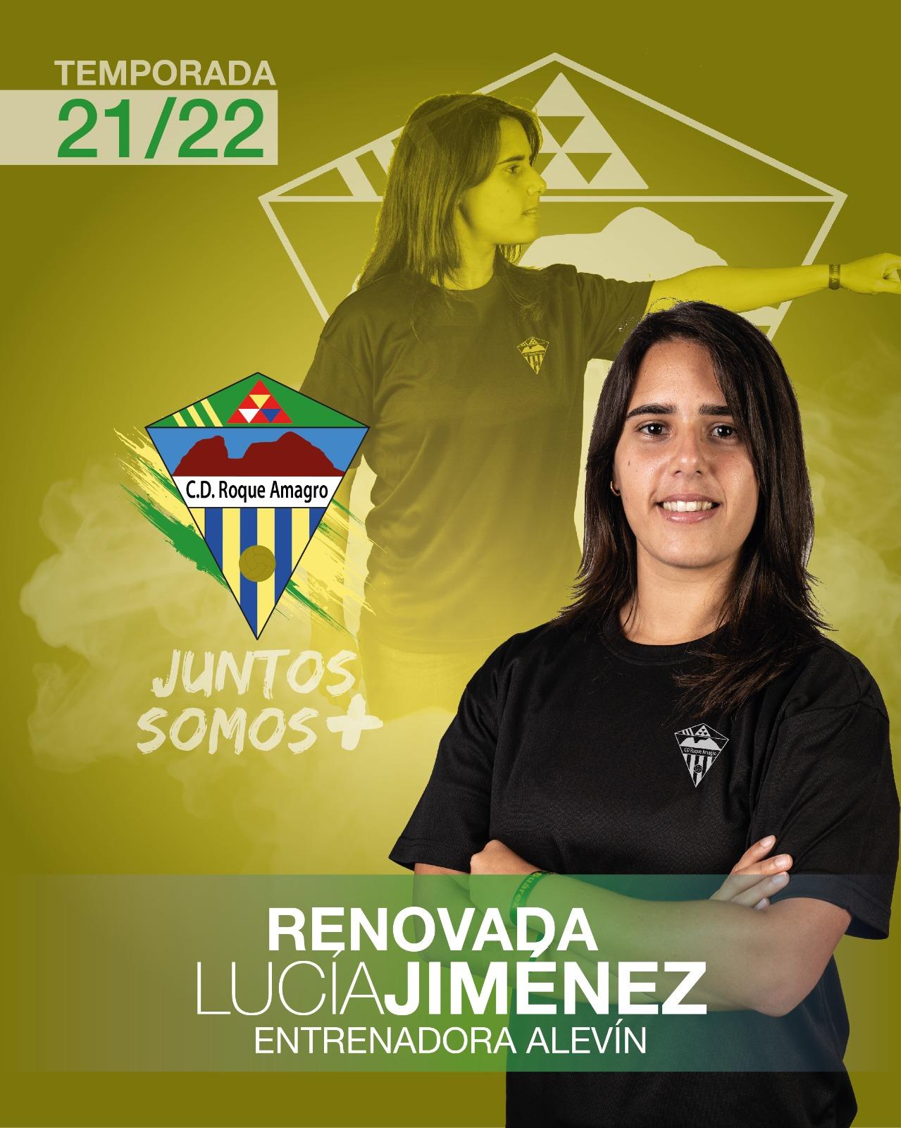 sdsLUCIA Jiménez Entrenadora del Equipo Alevín del Club Deportivo Roque Amagro