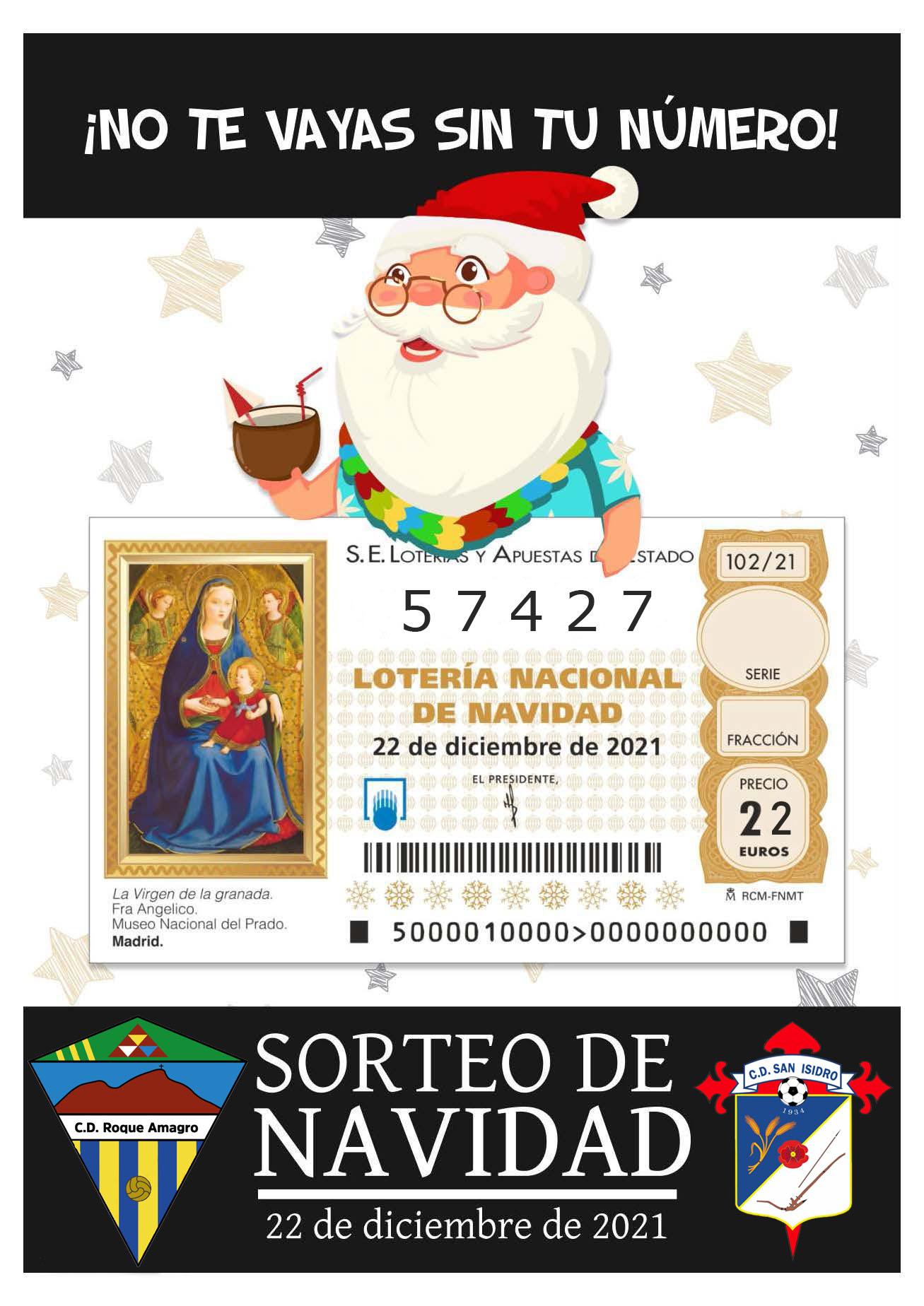 ¡Esta Año Toca! - Sorteo de Navidad 57427 - ¡Este Año Toca!