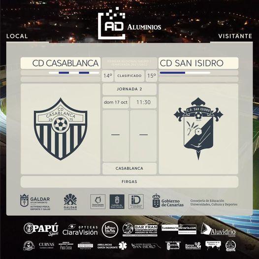2ª Jornada del Equipo Regional del C D San Isidro Aluminios Daniel