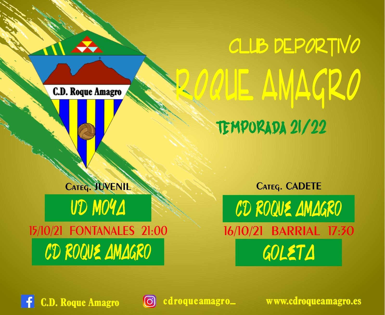 C. D. Roque Amagro - Jornada del 14 - 17 de Octubre de 2021