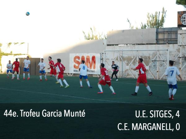 U.E. SITGES - C.E. MARGANELL