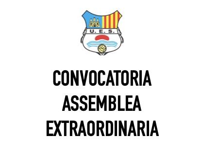 Convocatoria Assemblea Extraordinaria de Socis