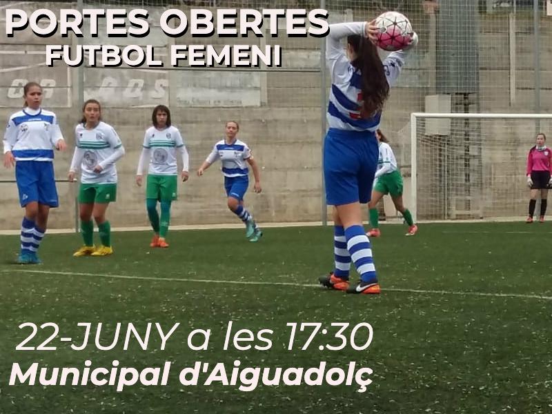 Jornada de Portes Obertes de Futbol Femení