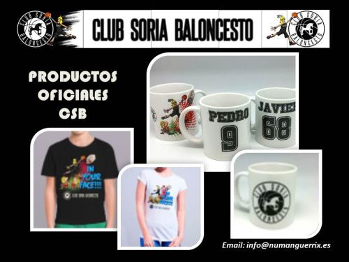 PRODUCTOS OFICIALES DEL CLUB
